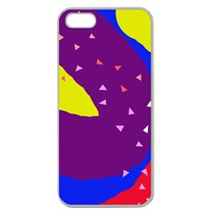 Optimistic abstraction Apple Seamless iPhone 5 Case (Clear)