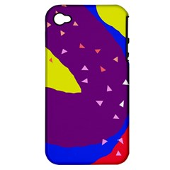 Optimistic abstraction Apple iPhone 4/4S Hardshell Case (PC+Silicone)