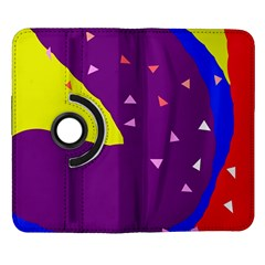 Optimistic abstraction Samsung Galaxy Note II Flip 360 Case