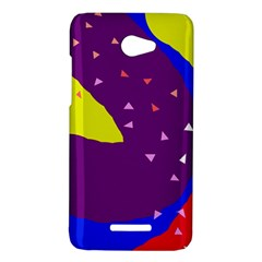 Optimistic abstraction HTC Butterfly X920E Hardshell Case