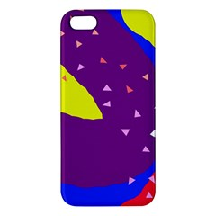 Optimistic abstraction Apple iPhone 5 Premium Hardshell Case