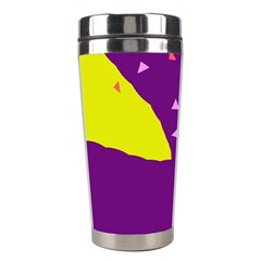 Optimistic abstraction Stainless Steel Travel Tumblers