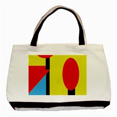 Abstract landscape Basic Tote Bag