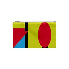 Abstract landscape Cosmetic Bag (Small)