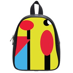 Abstract landscape School Bags (Small)