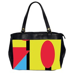 Abstract landscape Office Handbags (2 Sides)