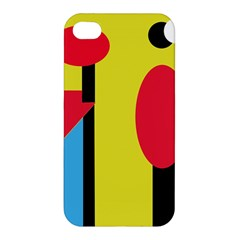 Abstract landscape Apple iPhone 4/4S Hardshell Case