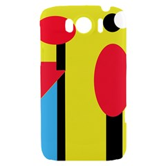 Abstract landscape HTC Sensation XL Hardshell Case