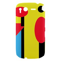 Abstract landscape HTC Desire S Hardshell Case