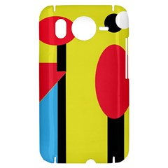Abstract landscape HTC Desire HD Hardshell Case