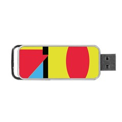 Abstract landscape Portable USB Flash (Two Sides)
