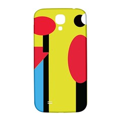 Abstract landscape Samsung Galaxy S4 I9500/I9505  Hardshell Back Case