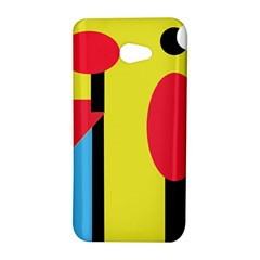 Abstract landscape HTC Butterfly S/HTC 9060 Hardshell Case