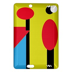 Abstract landscape Amazon Kindle Fire HD (2013) Hardshell Case