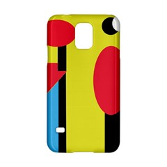 Abstract landscape Samsung Galaxy S5 Hardshell Case