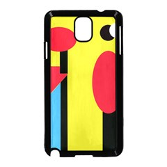 Abstract landscape Samsung Galaxy Note 3 Neo Hardshell Case (Black)