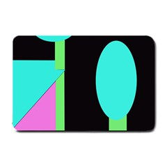 Abstract landscape Small Doormat