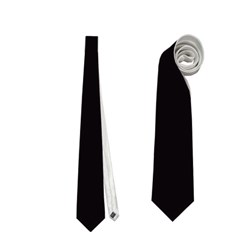 Abstract landscape Neckties (One Side)
