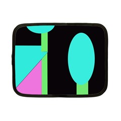 Abstract landscape Netbook Case (Small)