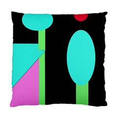 Abstract landscape Standard Cushion Case (Two Sides)