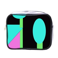 Abstract landscape Mini Toiletries Bags