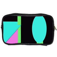 Abstract landscape Toiletries Bags 2-Side