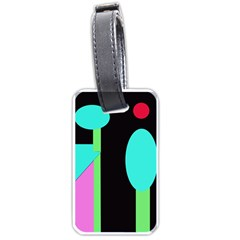 Abstract landscape Luggage Tags (Two Sides)