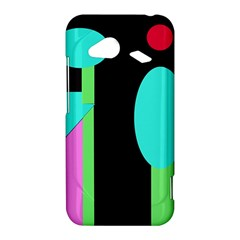 Abstract landscape HTC Droid Incredible 4G LTE Hardshell Case