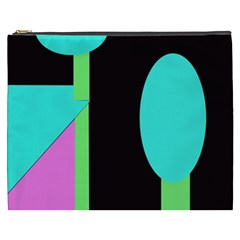 Abstract landscape Cosmetic Bag (XXXL)