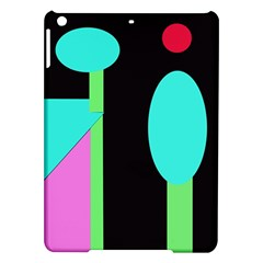 Abstract landscape iPad Air Hardshell Cases