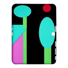 Abstract landscape Samsung Galaxy Tab 4 (10.1 ) Hardshell Case