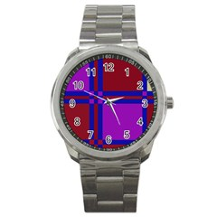 Deorative design Sport Metal Watch