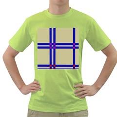 Elegant lines Green T-Shirt