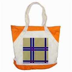 Elegant lines Accent Tote Bag