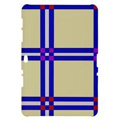 Elegant lines Samsung Galaxy Tab 10.1  P7500 Hardshell Case