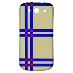 Elegant lines Samsung Galaxy S3 S III Classic Hardshell Back Case
