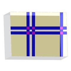 Elegant lines 5 x 7  Acrylic Photo Blocks
