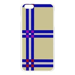 Elegant lines Apple Seamless iPhone 6 Plus/6S Plus Case (Transparent)