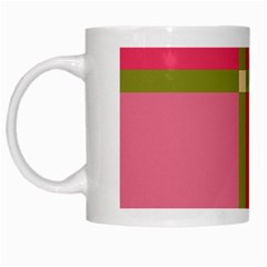 Red And Green White Mugs