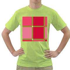 Red and green Green T-Shirt