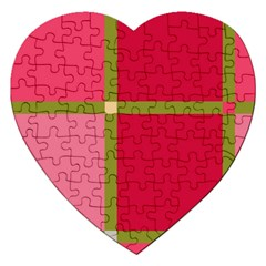 Red and green Jigsaw Puzzle (Heart)