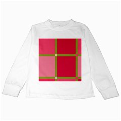 Red and green Kids Long Sleeve T-Shirts