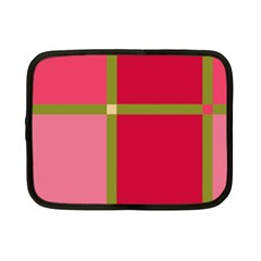 Red and green Netbook Case (Small)