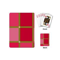 Red and green Playing Cards (Mini)