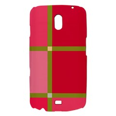 Red and green Samsung Galaxy Nexus i9250 Hardshell Case
