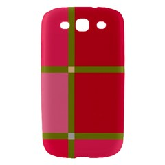 Red and green Samsung Galaxy S III Hardshell Case