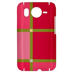 Red and green HTC Desire HD Hardshell Case