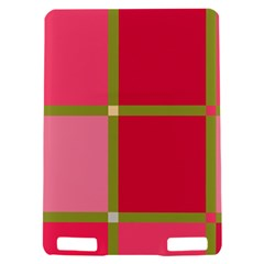 Red and green Kindle Touch 3G