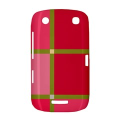 Red and green BlackBerry Curve 9380