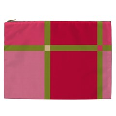 Red and green Cosmetic Bag (XXL)